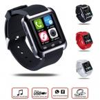 Bluetooth U80 u8 Смарт u Часы для Android Samsung S5 S4 LG Телефон Спорта шагомер smartwatch dz09 pk gt08 часы