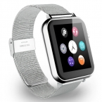 A9S Bluetooth Smart Watch Наручные Smartwatch Мужчины Наручные Часы Носимых Устройств Металлический Ремешок для Apple, IOS Android мобильный Телефон С Камерой FM