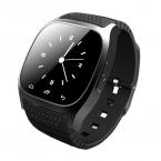 Водонепроницаемый, Смарт-Часы Со СВЕТОДИОДНЫМ Дисплеем/Dial/сигнализация/Музыкальный Плеер/Шагомер Для IOS Android Smartwatch M26