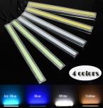 2X12 В Супер Яркий Белый 6 Вт COB СИД DRL LED дневные Ходовые Огни лампа Алюминиевый Chip Палитры бесплатная доставка