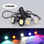 1 шт. 23 ММ 1 шт. Led DRL Дневные Ходовые Огни Для всех Автомобилей Eagle Eye Парковка Сигнальные Лампы Подсветка Обратный свет