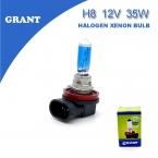 2PCS ГРАНТ H8 Галогенные лампы 35W, ксеноновые 6000K белый DC12V на  автомобили  Противотуманные фары