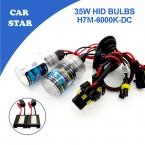 2X H7M Ксеноновые Комплект 35 Вт 6000 К DC12V с Тонкий Балласт Автомобилей HID Xenon Замена Лампы Высокого качество