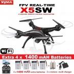 SYMA X5SW X5SW-1 FPV RC Дрон, 2.4G 6-осевой квадрокоптер, с камерой 2 Мп, Wi-Fi, съемка в реальном времени, дистанционное управление, вертолет, квадрокоптер