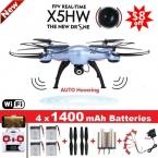 СЫМА X5HW FPV RC Мультикоптер Drone С Wi-Fi Камера 2.4 Г 6-осевой RC Дрон Вертолет Игрушки Воздуха Наведении VS СЫМА X5SW