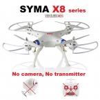 СЫМА X8C X8W 2.4 ГГц 6-осевой Гироскоп RC Quadcopter Drone БПЛА Без Камеры И Передатчика Дистанционного Управления Вертолетом