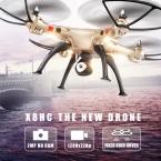 Сыма Drone X8HC (X8C Обновления) с 2-МЕГАПИКСЕЛЬНАЯ Камера HD 2.4 Г Фиксированной Высокой Quadcopter RTF 4CH 6 Ось RC Вертолет Квадрокоптер