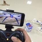 Ново мини Drone JJRC H6W Видео в Режиме Реального Времени FPV RC Quadcopte Игрушки дрон С 2-МЕГАПИКСЕЛЬНОЙ Hd Wi-Fi Камера Вертолет Vs MJX X600