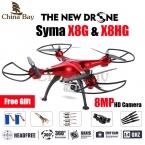 Последним Drone Syma X8G и X8HG 2.4 Г 4ch 6 Оси с Высота Удержания 8MP Широкоугольный Hd Камера RC Quadcopter RTF RC Вертолет