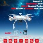 Сыма X8 Upgarded Bayangtoys X16 Brushless Drone 15 минут и 300 М Расстояние Добавить Gopro/Xiaomi yi/Sjcam/экен HD Камера Rc Quadcopter
