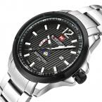 NAVIFORCE Бизнес Часы Мужчины Luxury Brand Дата Нержавеющей Стали Кварцевые Мужчины Повседневная Часы Армии Военные Спортивные Часы Мужской Часы