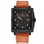 Naviforce календарная марка мода свободного покроя мужские наручные часы бизнес кожа аналоговые кварцевые мужские часы relojes хомбре relogio masculino