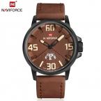 NAVIFORCE Новые Часы Мужчины Luxury Brand мужские Кварцевые Часы Дата Спорт Человек Часы Мода Повседневная Армия Военные Наручные Часы