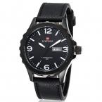 часы мужчины люксовый бренд кварцевые часы кожаный ремешок цифровой дата часы мужчины кварцевые наручные часы Relogio Masculino