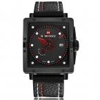мода свободного покроя мужские часы лучший люксовый бренд NAVIFORCE календарная кожа бизнес кварцевые часы наручные часы мужчины водонепроницаемый наручные часы