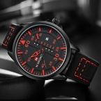 люкс свободного покроя мужчины часы аналогового военные спортивные часы кварцевые мужские наручные часы Relogio Masculino Montre Homme erkek кол саат