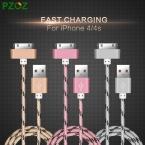 PZOZ Для iphone 4 Кабель 30 контактный Зарядное Устройство Адаптер Оригинальный USB Кабель быстрое Зарядное Устройство Для iphone 4s iphone 4 с iphone 3GS iPad 2 3