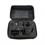 Черный Малый/Средний/Большой Размер Для Хранения Коллекция Сумка Для SJCAM SJ4000 GoPro HD Hero 3   3 2 камера Аксессуар