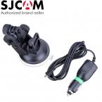 Автомобильное Зарядное Устройство Гора   присоске Кронштейн Автомобильный Держатель Автомобиля зарядное устройство Для SJ4000 WiFi SJCAM SJ5000 Плюс M10 SJ5000x Действий Камеры