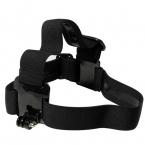 Эластичный Ремешок Голову Регулируемая Headstrap Gopro Глава Крепление Ремня грм для Gopro Камеры Hero 3 2 HD Аксессуары Black Edition