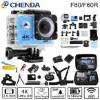 Оригинал F60/F60R Allwinner V3 Действий Камеры 4 К 30FPS Wi-Fi Ультра HD 16MP 30 М Водонепроницаемый Мини Шлем Камеры велосипеда запись Спорт камера