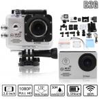 Оригинал B2G Wi-Fi Камера Действий 1080 P Full HD 2 Дюймов 170 Широкий Угол 30 М Водонепроницаемая Камера Спорта камера