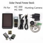 1500 мАч Солнечное Зарядное Устройство ЕС Plug Зарядное Power Bank для SUNTEK HC300 Охота Фотокамеры HC300M HC500 Серии Скаутинг Камеры