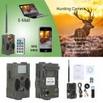 Сантек HC300M 940NM Инфракрасного Ночного Видения 12 М Цифровая Камера След Поддержка Дистанционного Управления 2 Г HC-300M MMS GPRS GSM охота Камеры