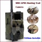 "Сантек HC300M Скаутинг охота камера HD GPRS MMS Цифровая 940NM Инфракрасный Trail Камеры GSM 2.0 ""ЖК Охотник Камеры Бесплатно доставка"