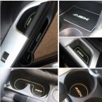 нескользящая интерьер двери колодки / кубок мат двери слот ворота коврик для Mitsubishi ASX   автоаксессуары
