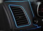 Интерьер автомобиля Силикона украшения Переоборудование аксессуары линии 5 м для Mitsubishi ASX Lancer Lancer-экс Pajero Outlaner аксессуары