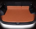 Высокое качество автомобилей коврик багажного отделения для Mitsubishi ASX 3D TPE   XPE противоскользящие кожаный коврик багажника Индивидуальные пол коврик автомобиля 3D стиль