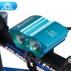 INBIKE Велосипед Свет T6 и L2 Фитиль Фонарик Водонепроницаемый Руль Велосипедов Свет Велоспорт Аксессуары IL708
