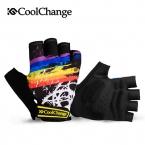 CoolChange Велоспорт Перчатки Половина Finger Мужская женские Летние Велосипед Перчатки Нейлон Спорт Горный Велосипед Перчатки Guantes Ciclismo