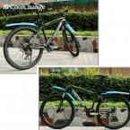 CoolChange Велосипед Крылья Велоспорт Горный Велосипед Брызговики Брызговики Набор Горячий Продавать 4 Цветов