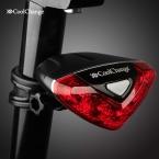 CoolChange Велосипед Велоспорт Передние Задние Хвост Красный Вспышка Света Безопасности Предупреждение Лампа Безопасности велосипед Света Аксессуары