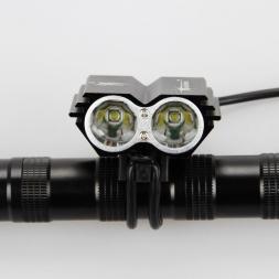 7000 Люмен 2x XM-L U2 LED Велоспорт Свет Велосипед Глава передний свет вспышки света   Задний Безопасности Задний Фонарь