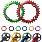 Новые продукты  Brand LEZE горный велосипед mtb Круглый шатуны Chainring Звездочки 32 Т 34 Т 36 Т Алюминия BCD104 Передач