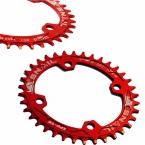 УЛИТКА горный велосипед mtb Овальные и Круглые Chainring crankset Звездочка 32 Т 34 Т 36 Т Алюминия BCD104 Передач