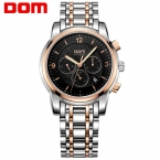 ДОМ Мужчины мужские часы лучший бренд класса люкс водонепроницаемый механические часы из нержавеющей стали Бизнес золотые часы reloj M-813