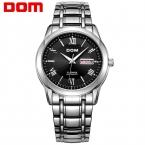 ДОМ Мужчины мужские часы лучший бренд класса люкс водонепроницаемый механические часы из нержавеющей стали Бизнес reloj hombre reloj М-53
