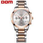 DOM мужские часы лучший бренд класса люкс водонепроницаемый механический человек Деловой человек marca де lujo reloj hombre Мужчины смотреть M-812