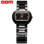DOM женщины Часы топ известный Люксовый Бренд Вскользь Кварцевые Часы женские женские часы Женские Наручные Часы T-576