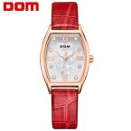 ДОМ женщины люксовый бренд часы водонепроницаемые стиль кварцевые золотые часы reloj hombre marca де lujo G-1022