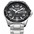 Дом HK люксовый бренд весь стали кварцевые часы 200 м часы погружения световой индикации календарь cut-экраном мужчины платье наручные часы