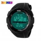 новый Skmei марка мужчины из светодиодов цифровой военные часы, 50 м погружение плавать платья спортивные часы мода открытый наручные часы