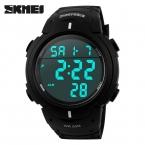 Skmei мужские спортивные led часы цифровые водозащищенные для плаванья модные часы