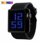 Skmei новинка женщины спортивные часы силикона конфеты цветные мужская свободного покроя часы цифровые часы 4 цвет relogio feminino