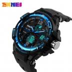 новый бренд SKMEI мода часы Men г стиль водонепроницаемый спорт военно часы шок роскошные кварцевый электронные часы