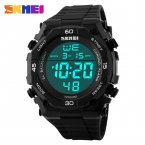 Мода Открытый Спортивные Часы Для Мужчин Часы Led Цифровые часы Водонепроницаемые Ударопрочный Мужчины Альпинизм Электронные часы